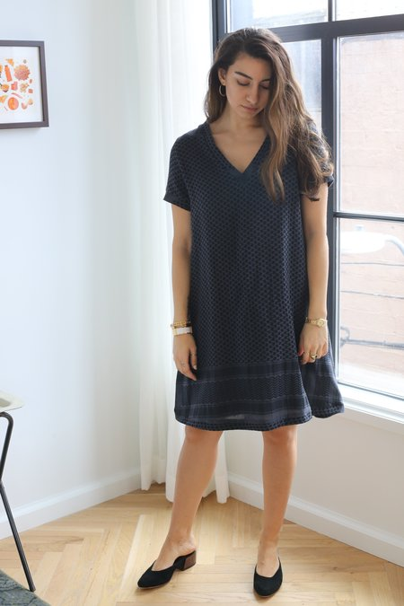CECILIE copenhagen Dress 1 V Short Sleeves