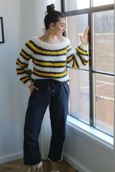 Ganni Julliard Mohair Sweater - Colour Block