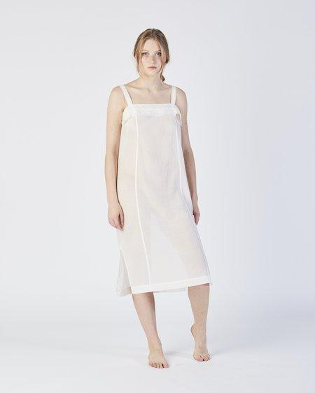 Botanica Workshop Kona slip dress in white