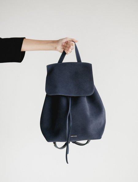 Mansur Gavriel Suede Backpack - Blue