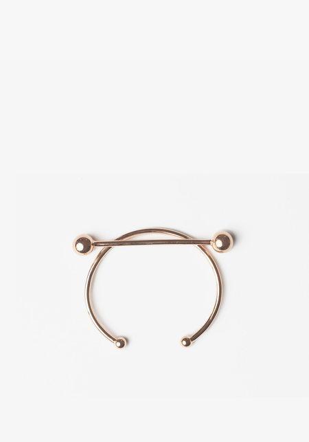 Maria Black Solar Bracelet - Rose Gold