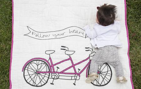 Kids Lil' Pyar  Follow Your Heart Tej Quilt