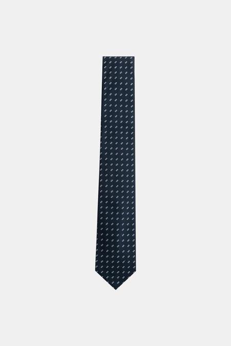 Neck & Tie Co. Abacus Necktie in Navy