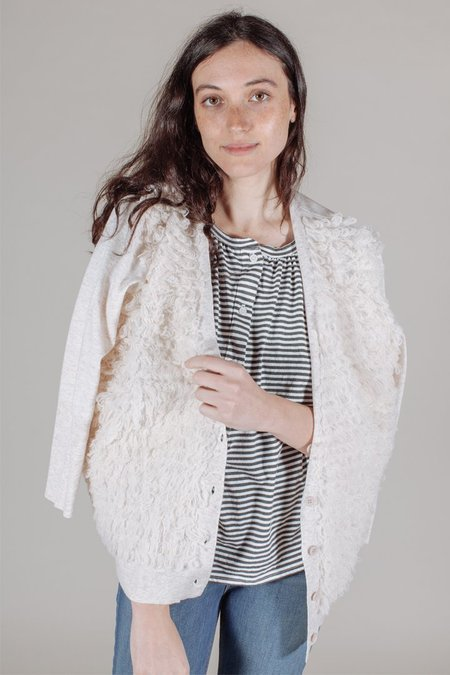 The Great The Loop Cardigan in Heather Oatmeal