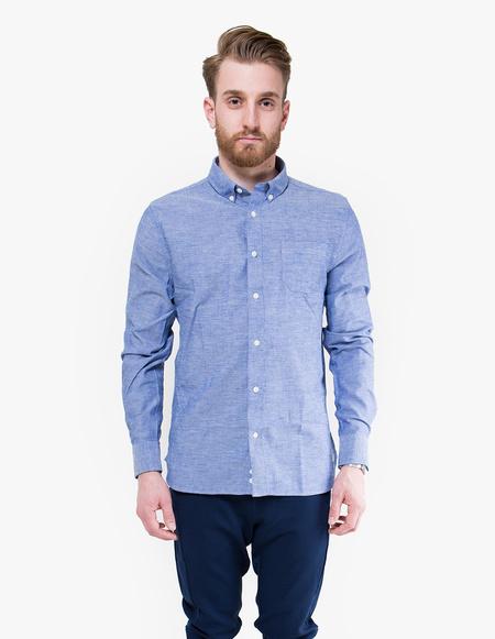 Penfield Hadley Chambray Shirt - blue
