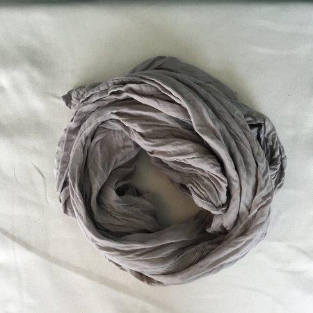 Dear Indigo storm grey scarf