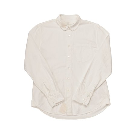 Olderbrother Hand Me Down - Classic Shirt - White