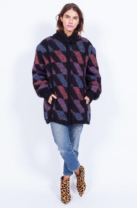 Yo Vintage! Knitted Coatigan - Medium