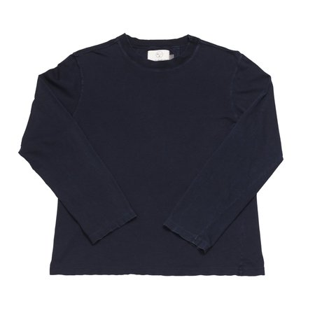 Olderbrother Hand Me Down Long Sleeve Tee - Indigo