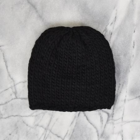 Wol Hide Hand-Knit Beanie
