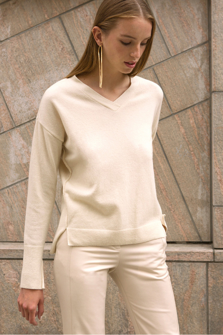 Andersson Bell Jamila V Neck Cashmere Sweater