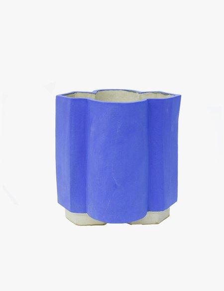 Bari Ziperstein Klein Blue Brut Vase