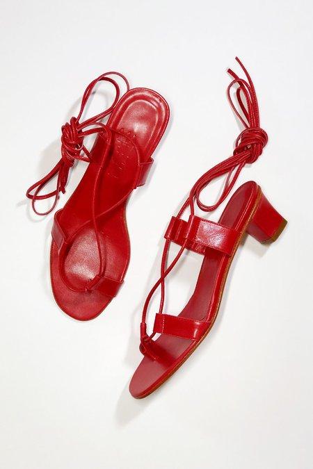 Martiniano Pavone Sandal - Red