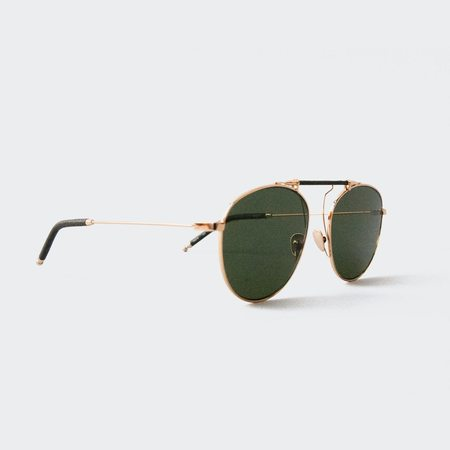 Reframe Sance Sunglasses - Yellow Gold