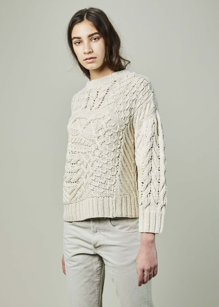 Spencer Vladimir Voyage Cable Knit Sweater