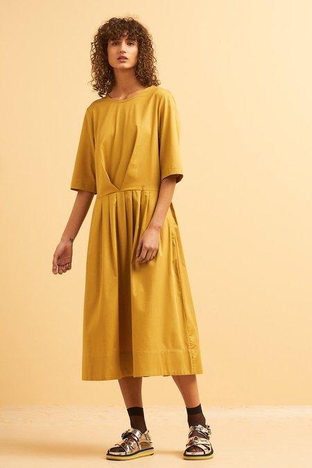 Kowtow Chorus Dress - Gold