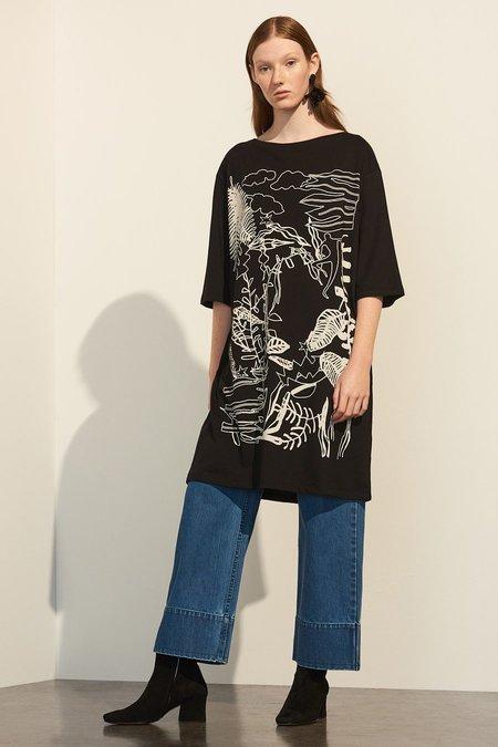 Kowtow Ritual Dress - Black