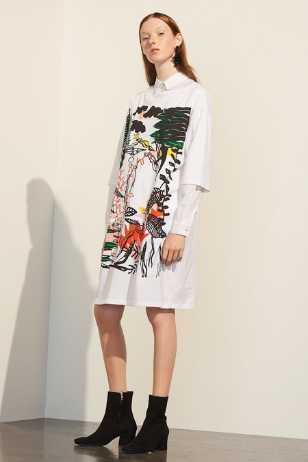 Kowtow Ritual Dress - White