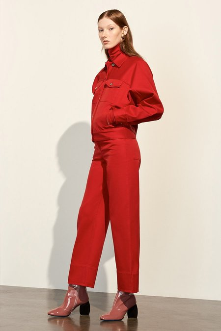Kowtow Stage Pant, Red