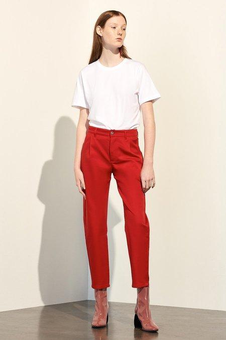 Kowtow Turnaround Pant - Red