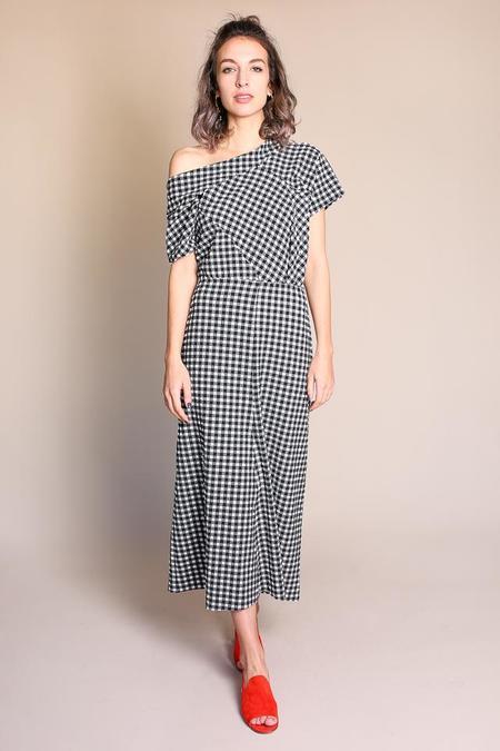 Rachel Comey Pout Dress - Black/White Check