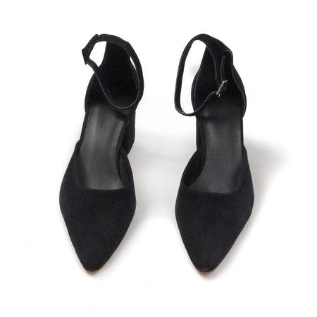 Rachel Comey Tetra Heel in Black Suede