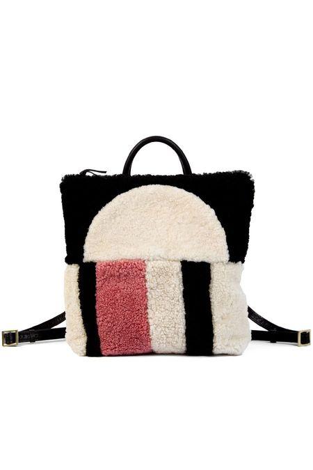 Primecut Patchwork Backpack Sunset Sheepskin