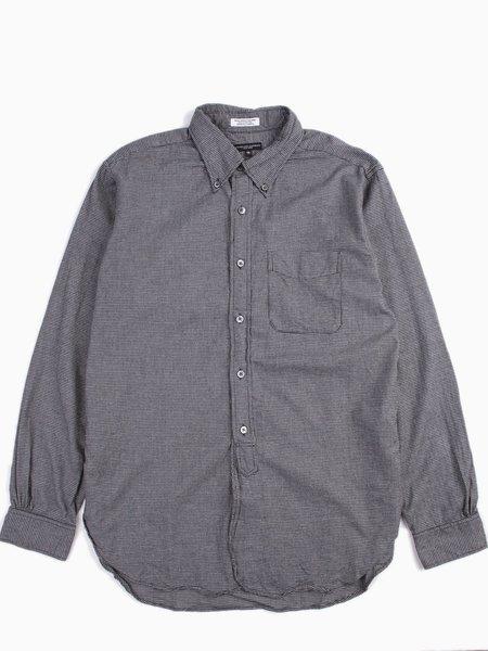 19 Century BD Shirt Dk Grey Brushed Houndstooth