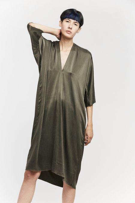 Miranda Bennett Ed. VIII Muse Dress - Silk Charmeuse in Lanai