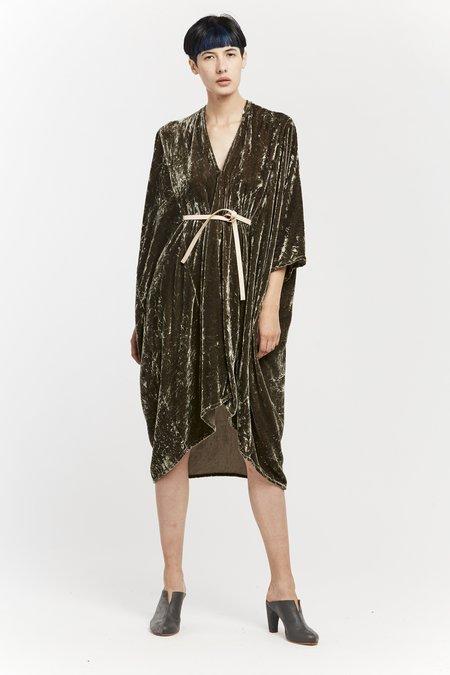 Miranda Bennett O'Keeffe Dress - Velvet in Shetland