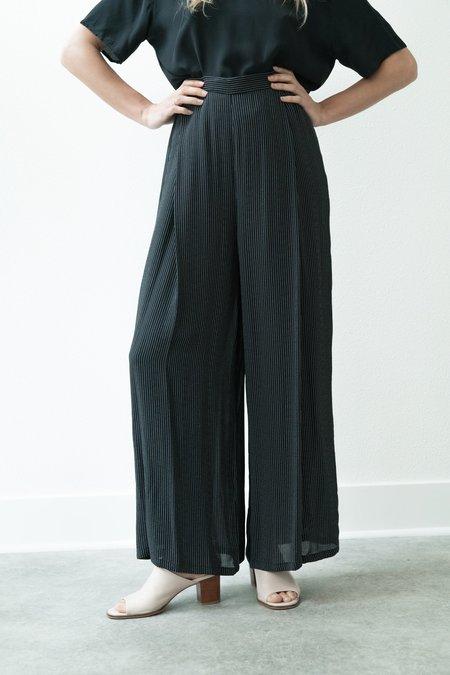Backtalk PDX Vintage Wide Leg Pinstripe Trousers