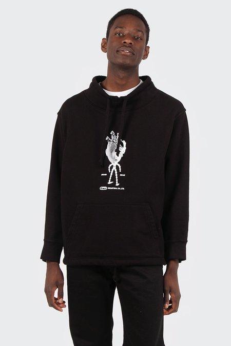 Brain Dead Mock Neck Sweater - Black
