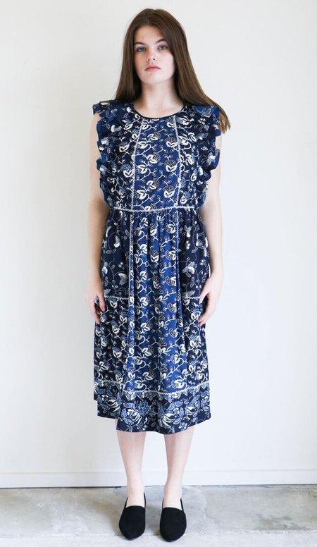 Ulla Johnson Citra Dress in Indigo