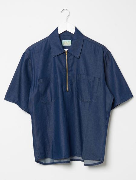 Aries Denim D Shirt - Blue