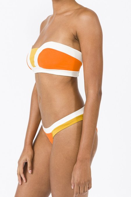 Luz Aurelie BIKINI Set - orange/yellow