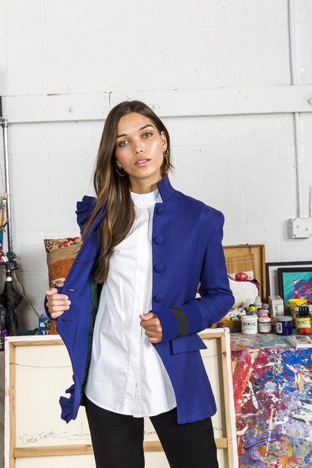 Maggie Marilyn Know Your Power Blazer - Royal Blue