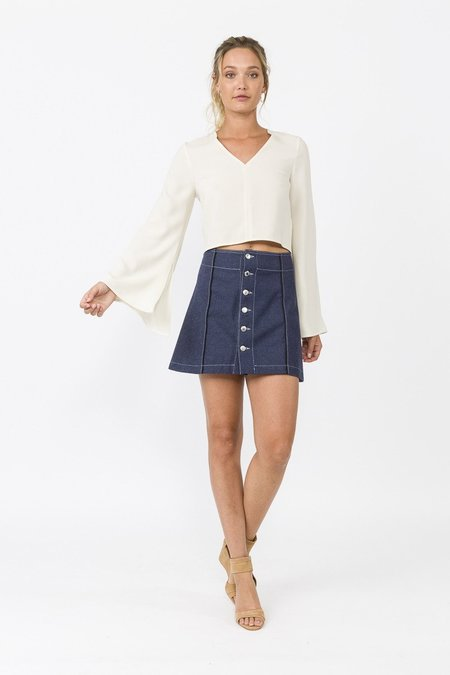 WYLDE Lou Skirt - DENIM
