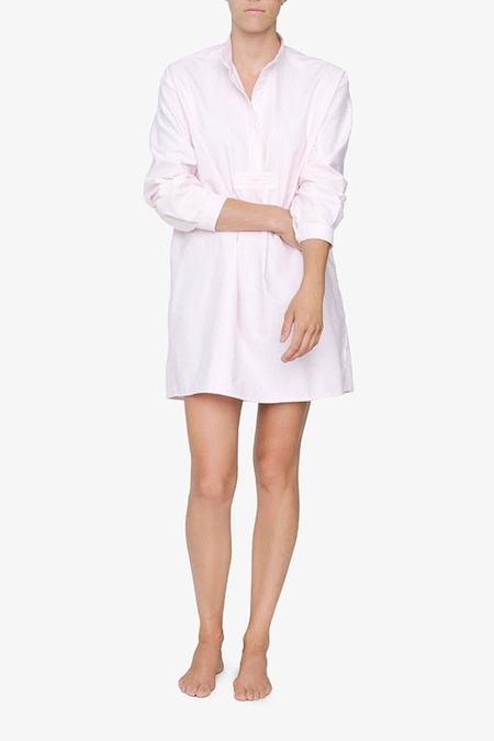The Sleep Shirt Short - Bubblegum Stripe