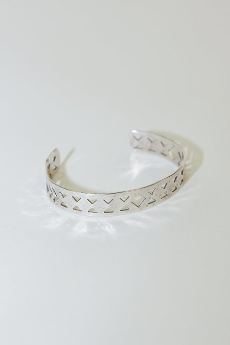 Raw Elements Silver Plated Navajo Cuff
