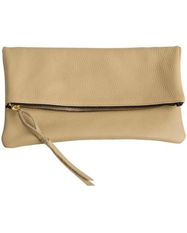 Oliveve Anastasia in Sand Pebbled Cow Leather