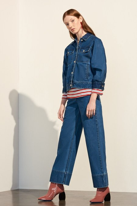 Kowtow Stage Pant in Denim