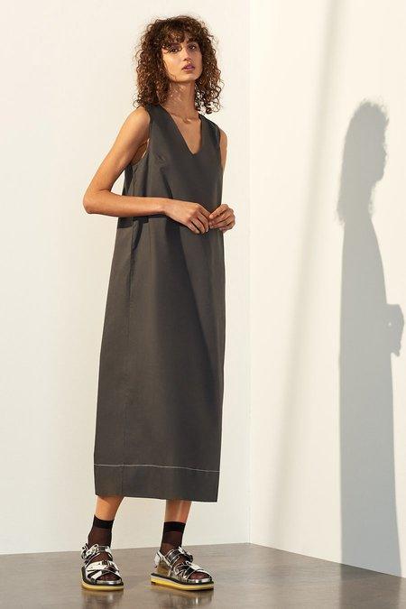 Kowtow Meadow Dress in Charcoal