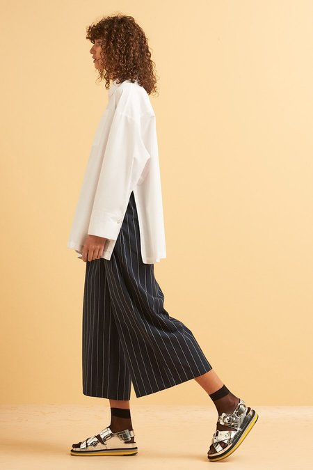 Kowtow Lines Shirt in White
