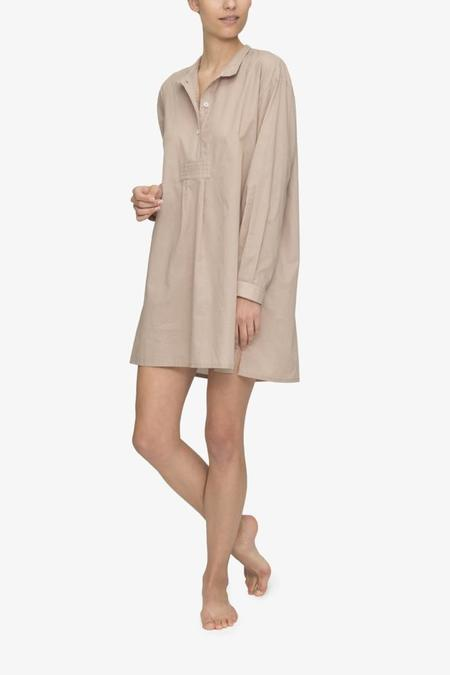 The Sleep Shirt Short Sleep Shirt Cotton Voile Sand