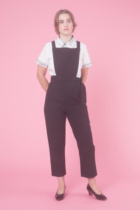 Samantha Pleet Backstage Overall in Black