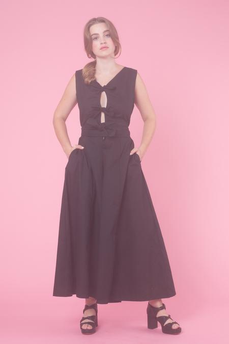 Samantha Pleet Prima Donna Jumpsuit in Black