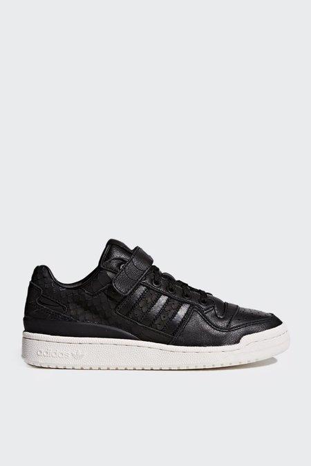 Adidas Originals Forum Low - Black/Black/White