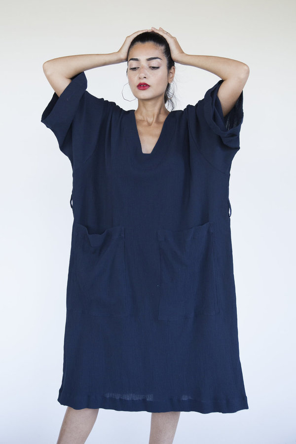 Sunja Link Patch Pocket Dress