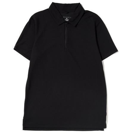 REIGNING CHAMP POLO COOLMAX PIQUE / BLACK