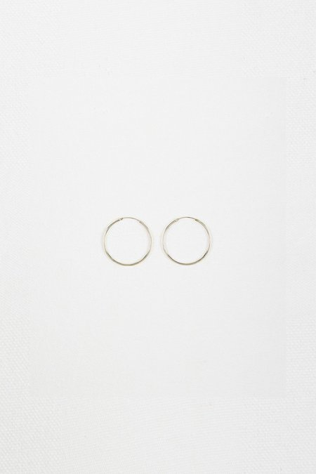Roucha Sterling Silver Small Hoop